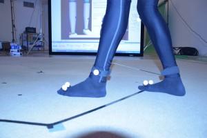Marcadores de las piernas 1 (Tobillos).