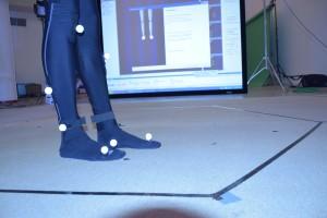 Marcadores de los pies.